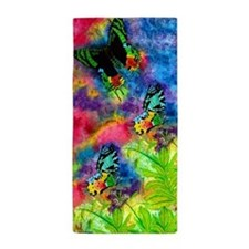Madagascar Splash Beach Towel