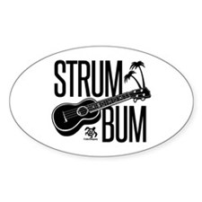 Strum Bum Decal
