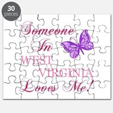 West Virginia State (Butterfly) Puzzle