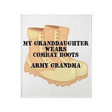 Army Grandma Granddaughter Desert Combat Boots Thr