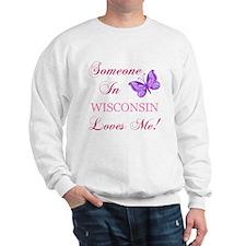 Wisconsin State (Butterfly) Sweatshirt
