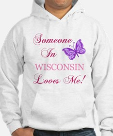 Wisconsin State (Butterfly) Hoodie