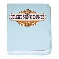 Great Sand Dunes National Park baby blanket