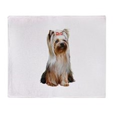 Yorkshire Terrier (#2) Throw Blanket