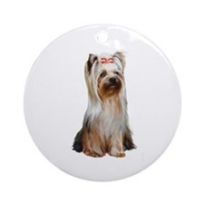 Yorkshire Terrier (#2) Ornament (Round)