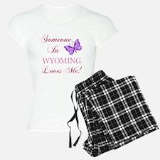 Wyoming State (Butterfly) Pajamas