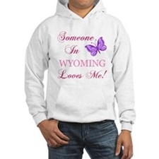Wyoming State (Butterfly) Jumper Hoody