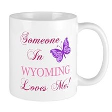 Wyoming State (Butterfly) Mug