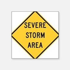 Severe Storm Area Sticker