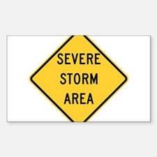 Severe Storm Area Decal
