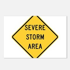 Severe Storm Area Postcards (Package of 8)