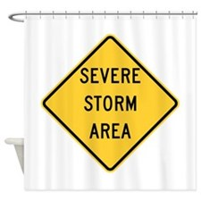 Severe Storm Area Shower Curtain