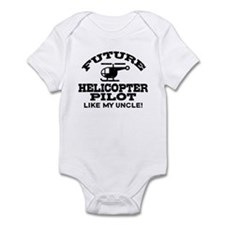 Future Helicopter Pilot Like My Uncle Onesie
