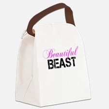 Beautiful Beast Canvas Lunch Bag