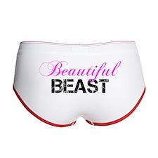 Beautiful Beast Women's Boy Brief
