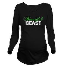 Beautiful Beast Long Sleeve Maternity T-Shirt