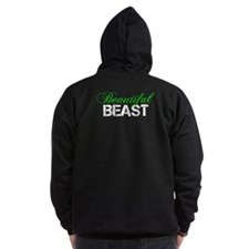 Beautiful Beast Zip Hoodie