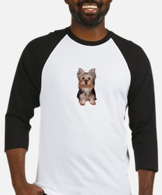 Yorkshire Terrier Puppy Baseball Jersey
