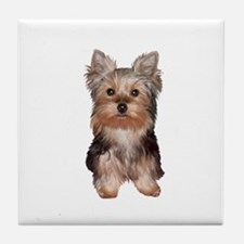 Yorkshire Terrier Puppy Tile Coaster