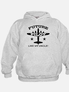 Future Pilot Like My Uncle Hoodie