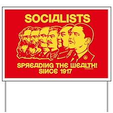 Socialists Obama Satire Yard Sign