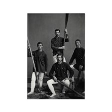 Vintage Halifax Rowing Crew, 1871 Rectangle Magnet