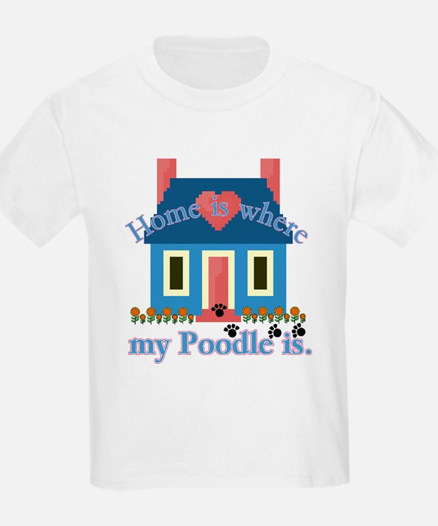 Poodle Lovers Gifts Kids T-Shirt