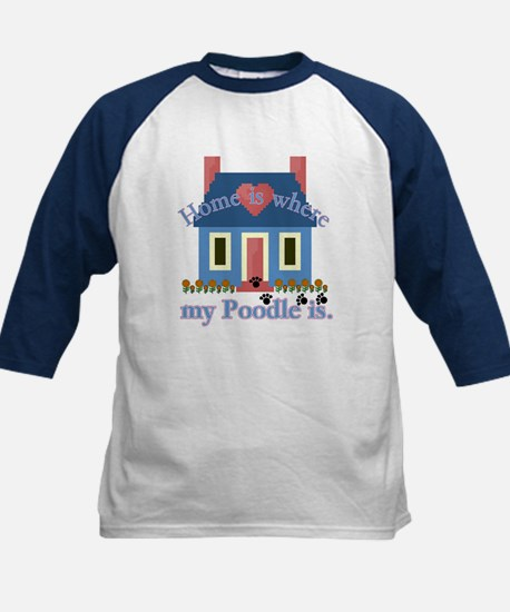 Poodle Lovers Gifts Kids Baseball Jersey
