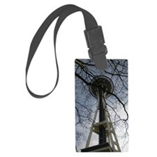 Space Needle Luggage Tag