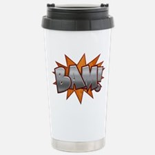 Inlay Bam! Stainless Steel Travel Mug