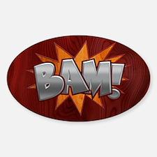 Inlay Bam! Decal