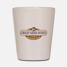 Great Sand Dunes National Park Shot Glass