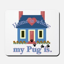 Pug Lover Gifts Mousepad