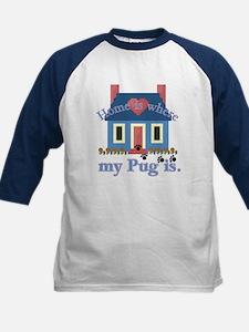 Pug Lover Gifts Kids Baseball Jersey