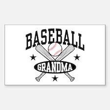 Baseball Grandma Bumper Stickers