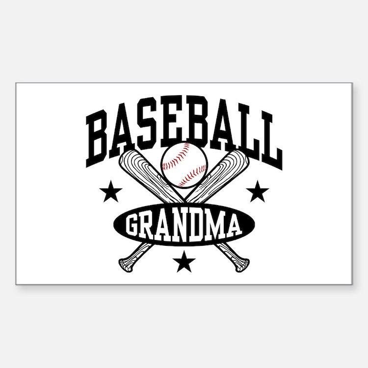 Baseball Grandma Bumper Stickers Car Stickers Decals