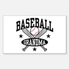 Baseball Grandma Stickers