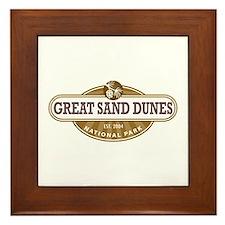 Great Sand Dunes National Park Framed Tile