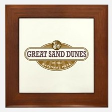 Great Sand Dunes National Park Framed Tile