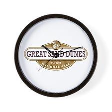 Great Sand Dunes National Park Wall Clock