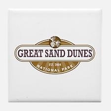Great Sand Dunes National Park Tile Coaster