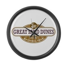 Great Sand Dunes National Park Large Wall Clock