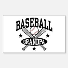 Baseball Grandpa Decal