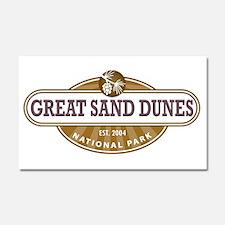 Great Sand Dunes National Park Car Magnet 20 x 12