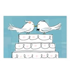 Wedding Love Birds Postcards (Package of 8)