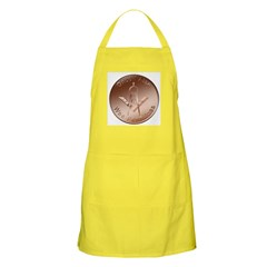 Masonic Once I also was penniless BBQ Apron