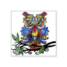 wild owl Sticker