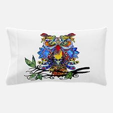 wild owl Pillow Case