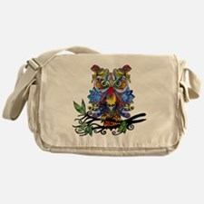 wild owl Messenger Bag