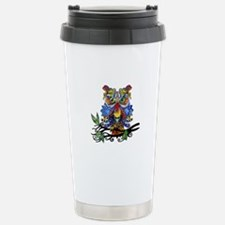 wild owl Travel Mug